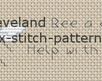 Cross Stitch Pattern, Cross Stitch Patterns, Cross Stitch, Counted Cross Stitch, Cross Stitch Chart, Xstitchpatterns, Cross Stitch Dishtowel