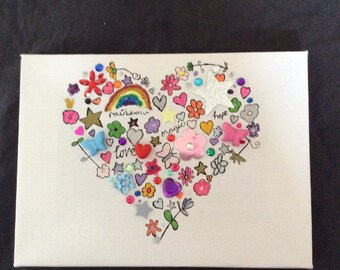 Heart handmade picture