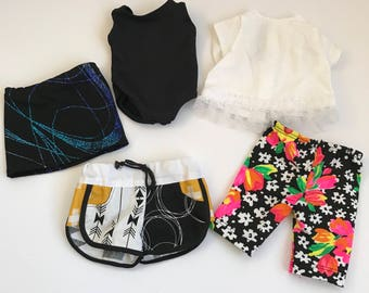 """5 Piece Dance & Play Doll Clothes- Designed For An 18"""" American Girl Sized Doll"""