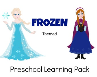 Frozen Themed Preschool Pack