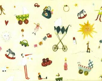 To birth-wrapping paper Silke Leffler