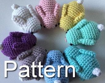 Baby Bunnies Crochet Pattern, Crochet Bunny, Amigurumi Bunny, Crochet Rabbit, Crochet Bunny, Amigurumi Pattern, Crochet Pattern