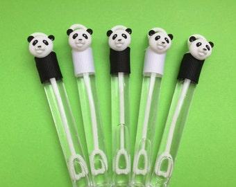 Panda Favor, Panda Bubble Favor, Panda Party Favor, Panda Party Supplies
