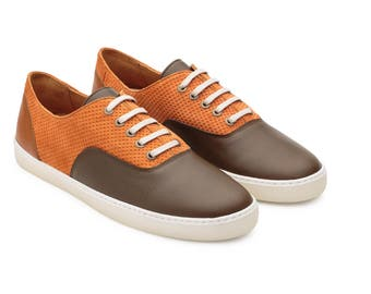Sneakers Canvas, Saddle Sneakers, Colorful Shoes Men, Leather Sneakers, Customised Shoes, Genuine Sneakers, Schuhe, Flexible Sole Shoes