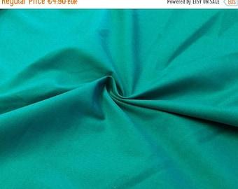 "Summer Sale ""Candy cotton ' Uni cotton emerald green"