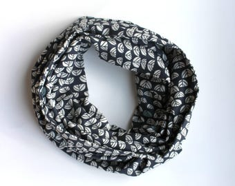 infinity double gauze scarf - Sproutlet Dusk