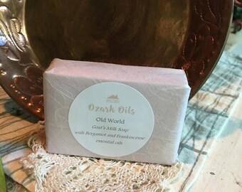 Old World Goat's Milk Soap - Handmade
