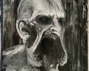 Dying Light: Volatile Zombie Oil Painting