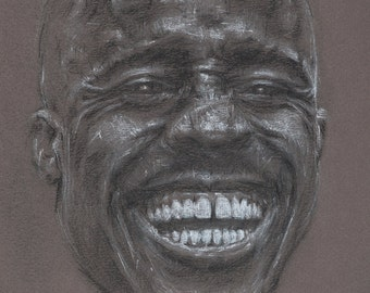 Limited Edition Print, 'Portrait #10'