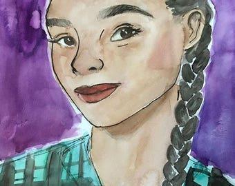 Watercolor Portrait Comission