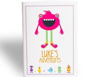 Monster Adventures Book