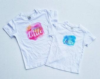 Pregnancy Announcement Shirts - Big Sibling Shirts - Big Little - Middle Little - Little Little - Sibling Shirts - Big Sister - Big Brother