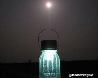 Moonlight Mason Jar Lantern Outdoor Light Solar Mason Jar