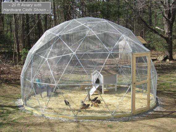 Geodätische Kuppel verkauf 16 ft geodätische kuppel außen voliere flug cage