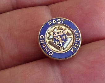 Vintage  Knights of Columbus SUIT Tie Pin  /J2