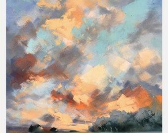 Sky (Original Pastel)