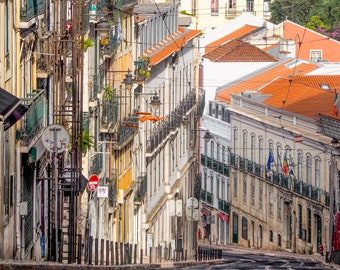 Hilly Street, Lisbon.