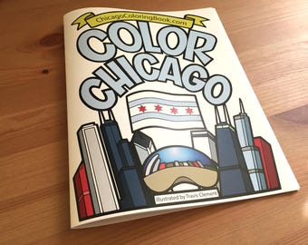Chicago Coloring Book - 42 pages