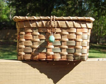 Pattern for Treasure Basket with Lid
