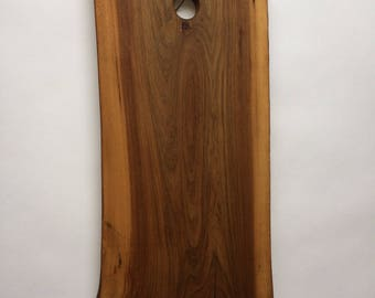 Large Live Edge Red Elm Chacuterie Boards (100Yrs old tree from the City of Toronto  RE05     10.75x21x1)