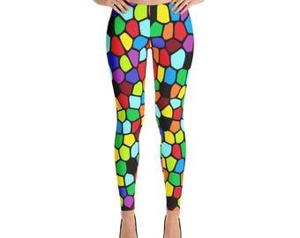 Colorful Leggings For Women Yoga Pants Yoga Leggings Workout Leggings Pattern Leggings Printed Leggings Fashion Leggings Womens Tights