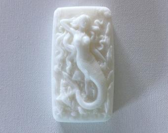 Mermaid Beauty Soap...beautifully gentle & serene with a delicate secret blend of essential oils. HANDMADE In MAINE, Custom Orders / Colors