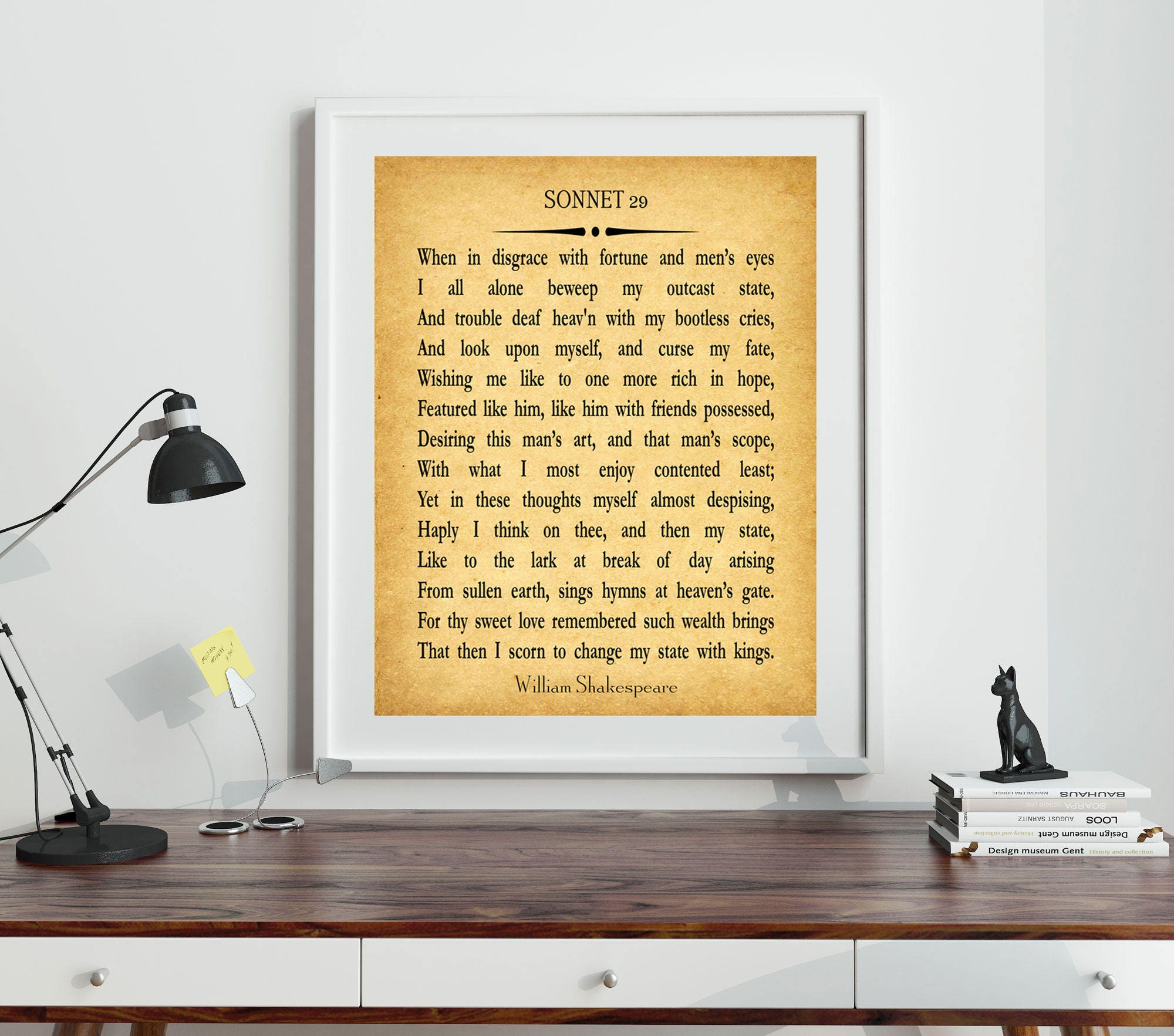 Fine Shakespeare Wall Art Vignette - The Wall Art Decorations ...