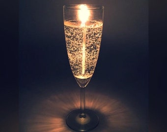 Sparkling Champagne Candle Gift