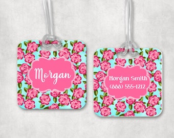Monogram Luggage Tag | Monogram Bag Tag  | Personalized Backpack Tag | Athletic Bag Tag | Back to School | Bag ID Tag | Personalized Gift