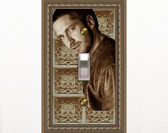 1545A - Gerard Butler-afar switch plate cover- mrs butler switchplates-choose sizes/prices from drop down-many gerards-ck out 1545b
