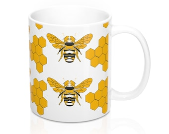 Honey Bee Mug 11Oz