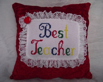 Best Teacher cushion