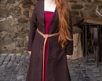 Burgschneider Medieval Viking Birkacoat Wool Aslaug