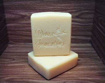 Unscented Yogurt & Cream Artisan Handmade Soap