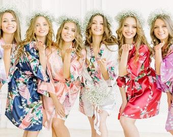 Bridesmaid Robes | Bridesmaid Gifts | Bridal Party gift | Bacholerette Robe | Bridal shower | Wedding Robe | Bridal Party Robe | Bride Robe