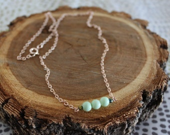 Three Peas in a Pod Necklace, Peas in a Pod Necklace, Mother Necklace, Mother's Day Necklace, Peas in a Pod