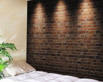 Tapestry Wall Hanging Throw Brick Wall