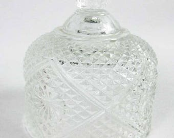Fostoria Domed Crystal Lid For Butter/Cheese Dish LID ONLY