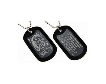 Courageous - Dog Tag Necklace