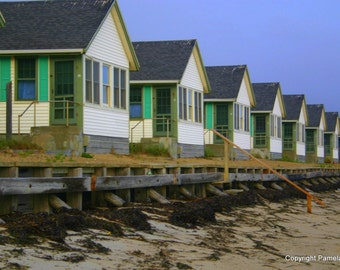 Days Cottages, Truro Provincetown, Massachusetts 8 x 10 Limited Edition Photograph, Cape Cod
