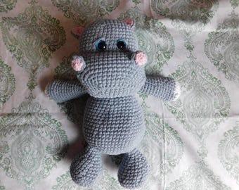 Hippo plushie