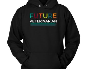 Veterinarian hoodie. Veterinarian Sweatshirt. Veterinarian Gift. Gift for Veterinarian. Birthday gift. Clothing for women or men