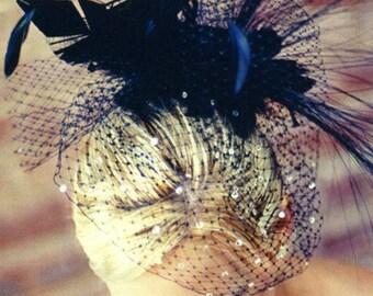 Black crystal veil