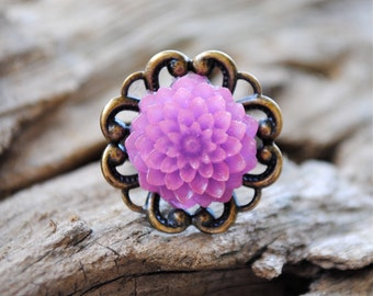 Mum Ring - Purple