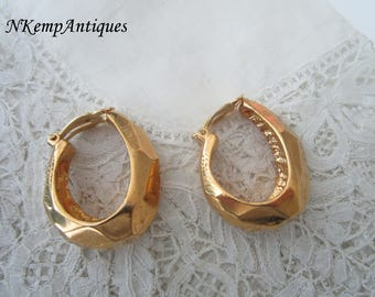 Scherrer designer earrings clip ons