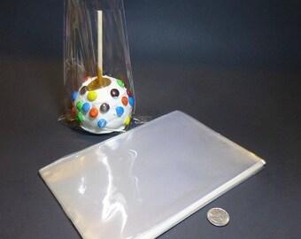 "Clear Polypropylene 'Cellophane' Favor Treat Candy Bags 6 x 9"""