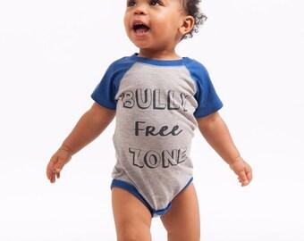Bully Free Zone Onesie