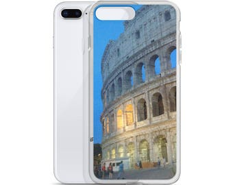 Colosseum iPhone Case, makes a great gift for women, men, teens, history buffs and travelers