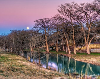 Turtle Creek Moonrise