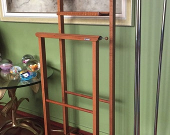 Mid Century Italian Valet Stand by Ico Parisi for Fratelli Reguitti / Modernist Valet Stand for Fratelli Reguitti, Italy
